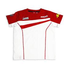 T-shirt 3206-06 MOTOGP MOTO DUCATI CORSE VALENTINO ROSSI 46 NUOVO! BIANCO & ROSSO S