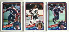1984-85 O-Pee-Chee Hockey 19-card Winnipeg Jets Team Set  Dale Hawerchuk