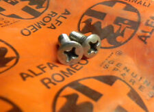 Alfa Romeo Spider Chrome Top Latch Bolts (2)  71-94