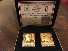 Highland Mint Bronze Mini Card Set – Grant Hill and Jason Kidd - #31 of 5,000