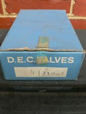 D.E.C DX 1242 4 x ENGINE VALVE NEW IN BOX - Do Not Know What Model These Are For