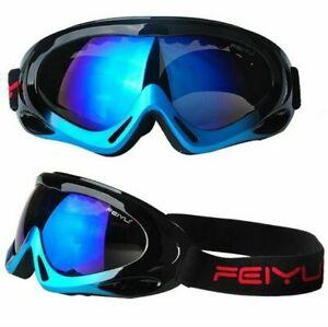 Children Ski Goggles Kid Winter Glasses UV400 Lens Anti-fog Professional Eyewear