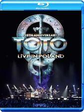 TOTO - 35TH ANNIVERSARY TOUR-LIVE IN POLAND  BLU-RAY NEU