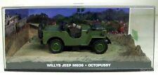 007 JAMES BOND 1/43 - WILLYS JEEP M606 - OCTOPUSSY DIE-CAST MODEL CAR