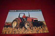Case International CX50 CX60 CX70 CX80 CX90 CX100 Tractor Dealer's Brochure GDSD