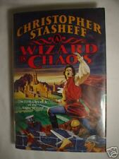 A WIZARD IN CHAOS Stasheff   1st First Edition HC/DJ