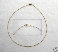 ECHT GOLD *** Omega-Reif Halsreif Kette Collier 42 cm