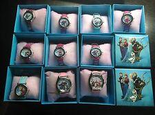 Wholesale 10 Pcs/Lot Frozen Elsa Anna Watches Children Cartoon watch with box