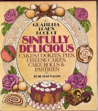 B001V2R4S2 Grandmas Roses Book of Sinfully Delicious Cakes, Cookies, Pies, Chee