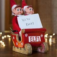 12 Inch Red Naughty Elf Elves Behavin' Badly On The Shelf  Girl & Boy