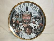 "KENNY ""THE SNAKE"" STABLER collectors PLATE Sports Impressions 384/7500"