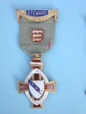 Masonic Silver Stewards Jewel Royal Masonic Institution for Boys 1913