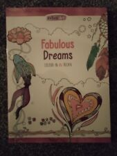 Fabulous Dreams Adult Colouring Book Creative Art Therapy Relax Art