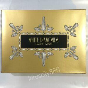 WHITE DIAMONDS 100ml+10ml EDT SPRAYS 4PCS SET BY ELIZABETH TAYLOR WOMENS PERFUME