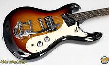 Danelectro 64 Hodad Electric Guitar Bigsby Tremolo Sunburst Finish, NEW!! #32796