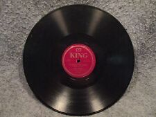 "78 RPM 10"" Record Paul Howard Rock Candy Heart & The Boogies Fine King 871"