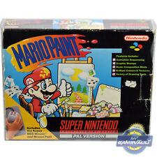 SNES Game Box protettore per vernice Mario Super Nintendo forte 0.5mm custodia in plastica