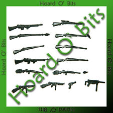 WWII AMERICAN INFANTRY BITS - RIFLES and MACHINE GUNS - Wargames Factory
