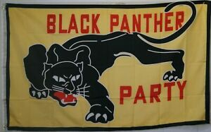 Black Panther Party US Black Lives Matter BLM USA 3X5 Flag Rough Tex® Nylon