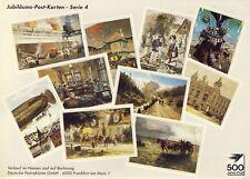 AK: Deckblatt Jubiläums-Post-Karten- Serie 4