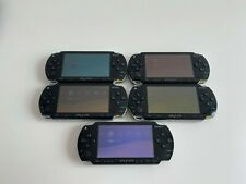 x5 Sony PSP Piano Black Handheld Console Joblot Bundle ALL WORKING