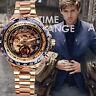 Hombre Ganador lujo Relojes De Pulsera Reloj Automático  esqueleto Watch