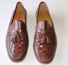 Nordstrom 12M  Brown Tassel Loafer Slip-On Italy