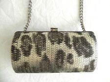 Just Cavalli  Leather Clutch Bag Party Holiday