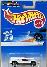 Hot Wheels White Ice Series Speed Machine No. 1/4 #561 New On Card 1997