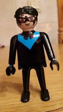 playmobil superheroes dc nightwing batman custom
