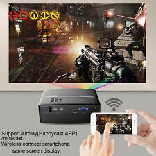 Multimedia 4K 1080P WiFi Android Bluetooth 3D LED Projector Home Cinema