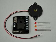 LFX1S Level Crossing Barrier Lights & Sound, DCC or 12v DC, Model Railway Train