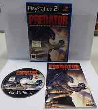 Console Game Gioco SONY Playstation 2 PSX2 PS2 Play PAL PREDATOR CONCRETE JUNGLE