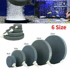 More details for 1pc aquarium fish tank pond pump oxygen bubble disk air pottery stone aerator