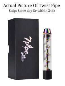 20-Pack 7Pipe Glass Twisted Blunt(FAST SHIP) - RAINBOW SEALED IN BOX