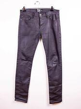Lip Service Stretch Denim Junkie Mens Skinny Jeans Purple EMO GOTH SOLD OUT NEW