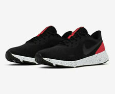 Nike Revolution 5 Running Shoes BQ3204-003 Men's Size 12 Black/Anthracite/Red