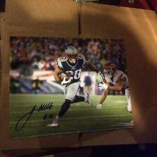 Patriots James Whites Autographed 8x10 Photo