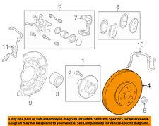TOYOTA OEM 07-15 Yaris Front Brake-Disc Rotor 4351252120