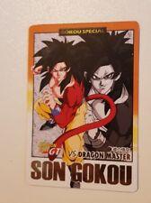 carte dragon Ball z hors serie Hondan spécial Goku ssj4