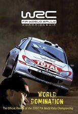 World Rally Championship - Official review 2002 (New DVD) FIA WRC Mcrae Sainz