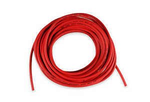 MSD 34029 Super Conductor Spark Plug Wire, Red 8.5mm, 50 Ft