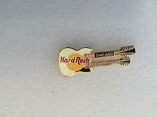 Chicago DOUBLE NECK HRC enamel pin B16-244 Logo - Hard Rock 2 Lines1997 mint