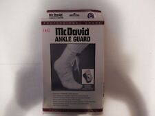 FLA Orthopedics Mcdavid Ankle Guard, Large, White, 40-411LGSTD, New, #16G