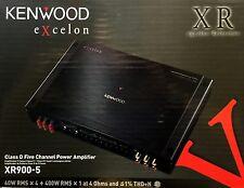 NEW Kenwood XR900-5  5-Channel eXcelon Series Full Range Power Amplifier