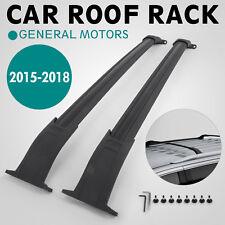 Roof Rack For 2015-2019 Tahoe Yukon Suburban Escalade Cargo Black Cadillac