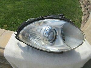 06-10 Mercedes-Benz W251 LEFT Headlight Assembly OEM Including Ballasts PB