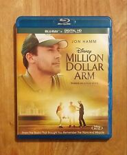 Million Dollar Arm (2014) Like New Blu-ray Jon Hamm, Aasif Mandvi, Bill Paxton