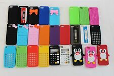 Various Patterns Silicone Case for iPhone 5/5S/SE, 5C