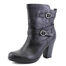 Style & Co Ameliya Women US 8 Black Ankle Boot Pre Owned 2414
